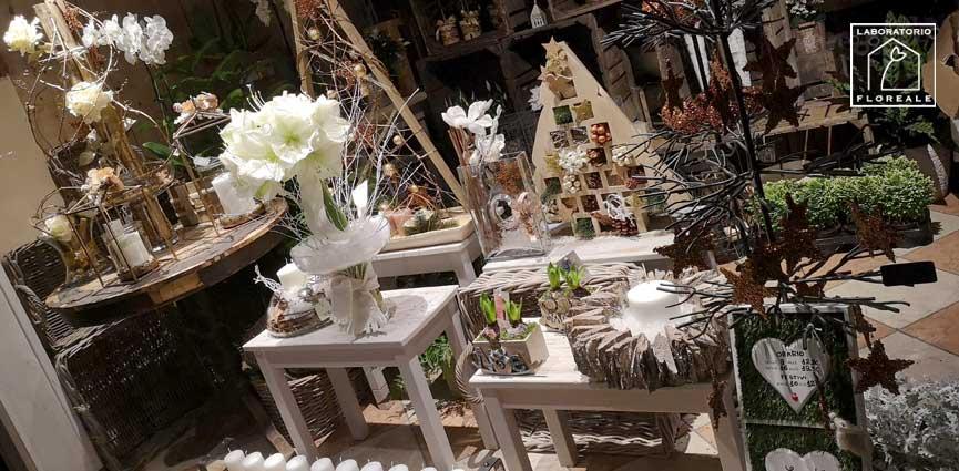 natale 2018 fiorista decorazioni idee regalo Carpi